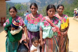 Young Mothers in Guatemala